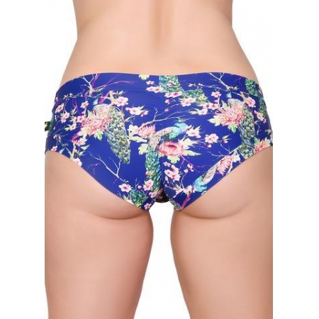 Cleo The Hurricane Power Print Hot Pants-Cherry Blossom