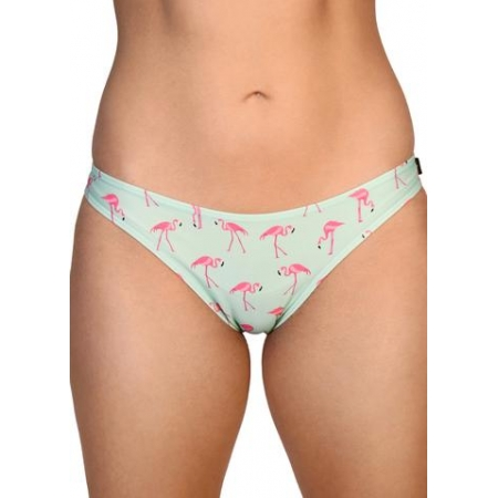 Cleo The Hurricane Tropical Scanty Pants – Flamingo