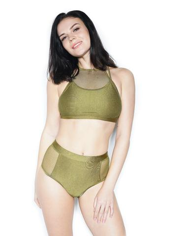 Gale Active Mesh Green Bottoms