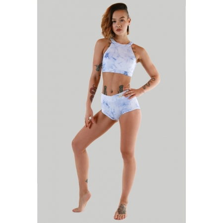 Creatures Of XIX NYX Frosted Marble High Waisted Shorts