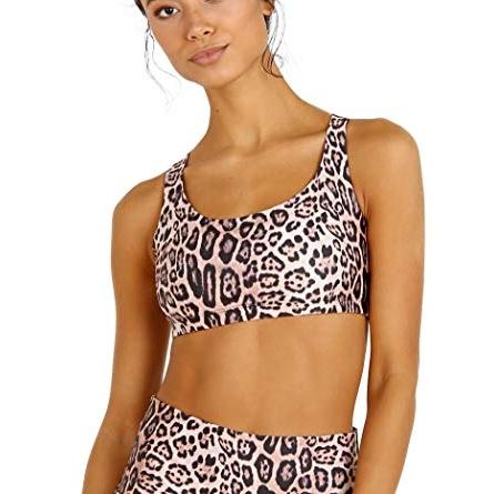 Onzie Chic Bra Leopard