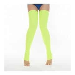 Pole Candy Lemon Thigh High Leg warmer