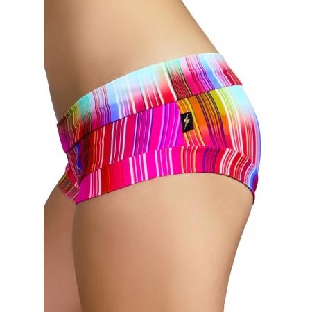Cleo The Hurricane Power Print Hot Pants 2.0 Retro Rainbow