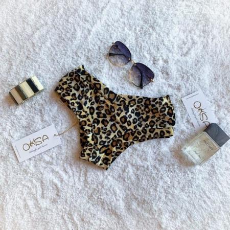 Oksa Shorts Lux - Velvet Leopard