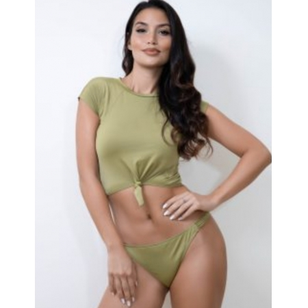 Wing Wear Country Top - Army Green