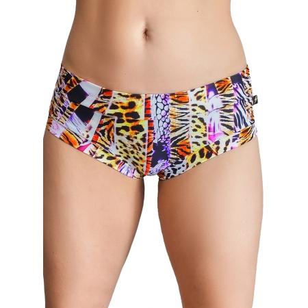 Cleo The Hurricane Power Print Hot Pants 6.0 - Jungle Fever
