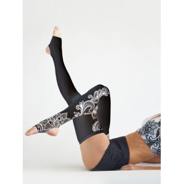Boomkats Dance Leg Warmers - Black Lace
