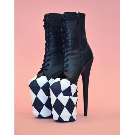 Boomkats Exotic Shoe Platform Protectors - Harlequin