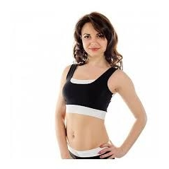 Pole Candy Maria Top - Black/White