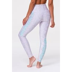 Onzie High Rise Graphic Legging - Opal Viper