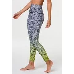 Onzie Graphic High Rise Midi Legging - Vixen