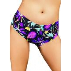 Cleo The Hurricane Power Print Hot Pants - Bahama Mama