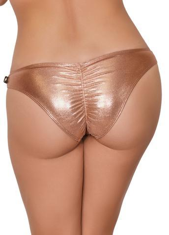 Cleo The Hurricane Rose Gold Scanty Pants