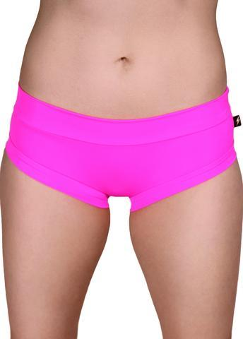 Cleo The Hurricane Essential Hot Pants-Neon Barbie