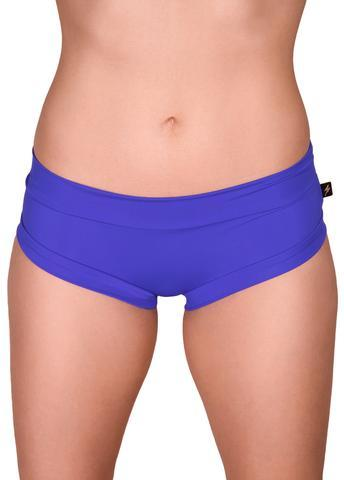 Cleo The Hurricane Essential Hot Pants-Majestic Blue