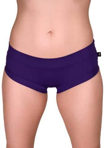 Cleo The Hurricane Essential Hot Pants-Purple Smoke