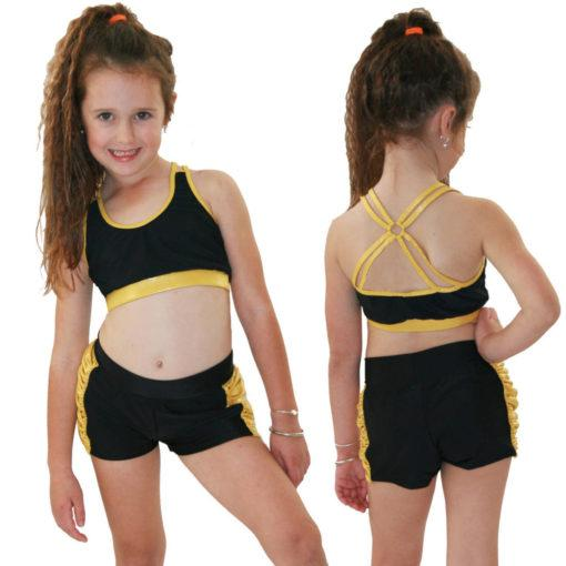 Juicee Peach Junior Kirra Set - Gold