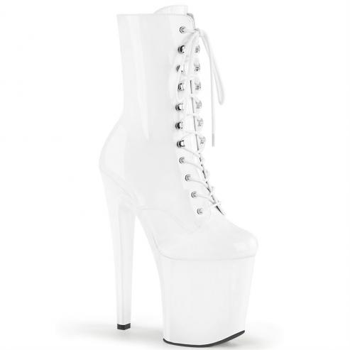 Pleaser Xtreme 1020 - White Patent