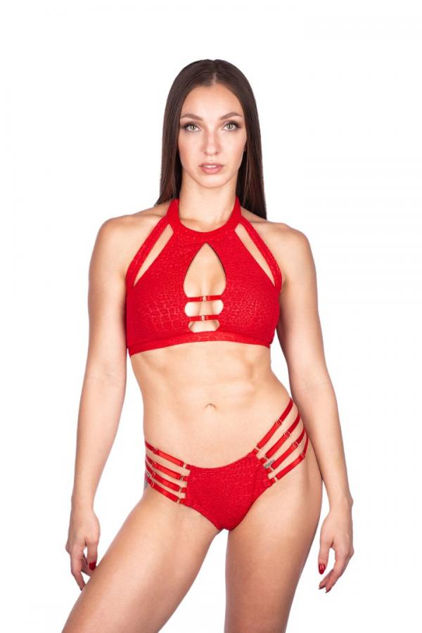 Naughty Thoughts Viper Top - RED