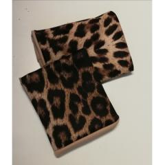 Juicee Peach Zeplin Leopard Top